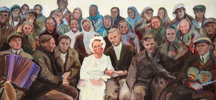 """Wioleta Rzążewska– wystawa malarstwa """"Sto lat!"""""""