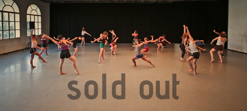 Gaga people classes sold out!