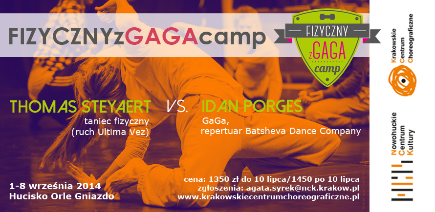 GaGa and Physical Dance Camp