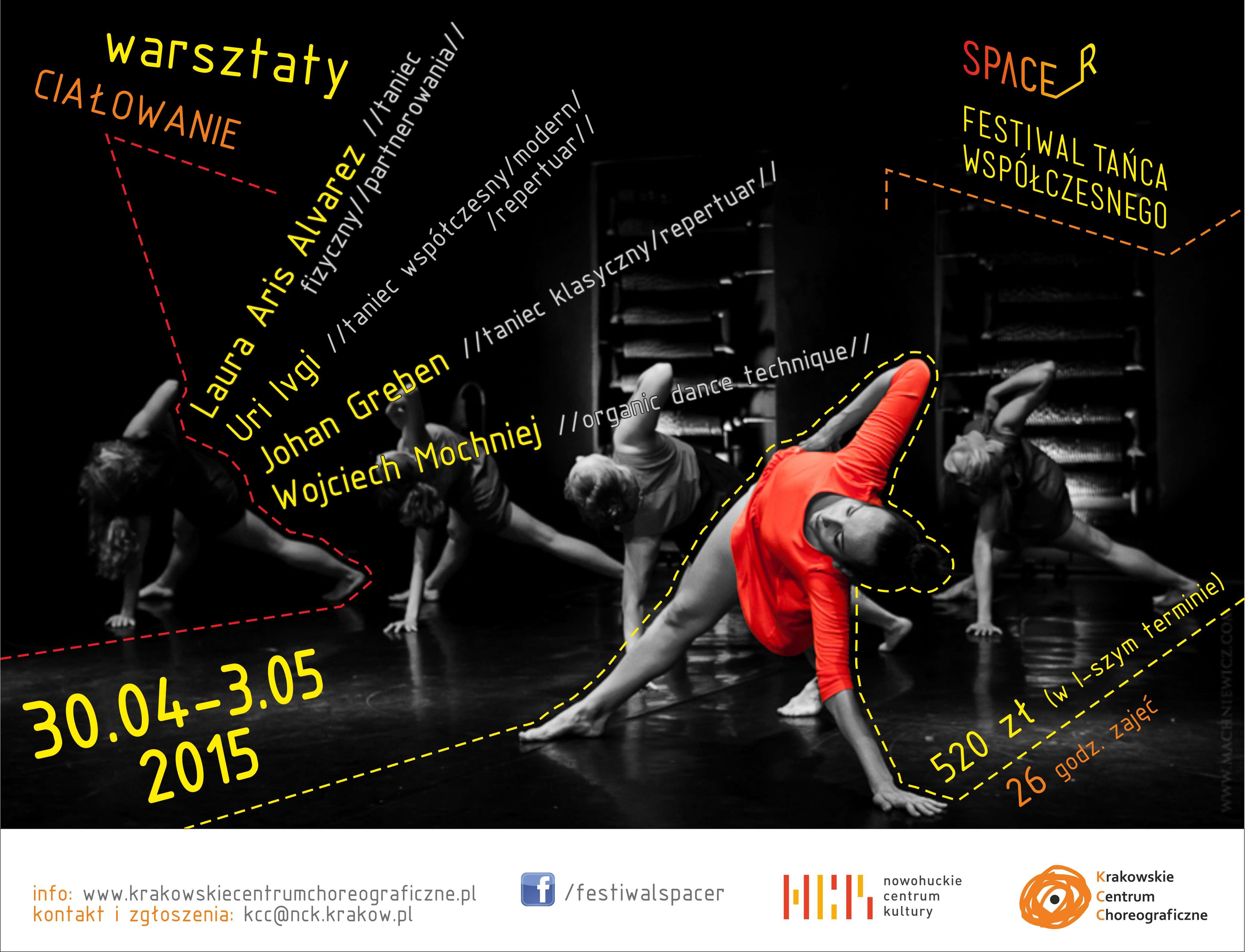 CIAŁOWANIE workshops on Festival SPACER