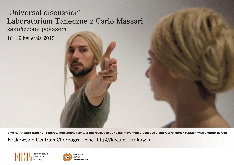 Dance Lab with Carlo Massari