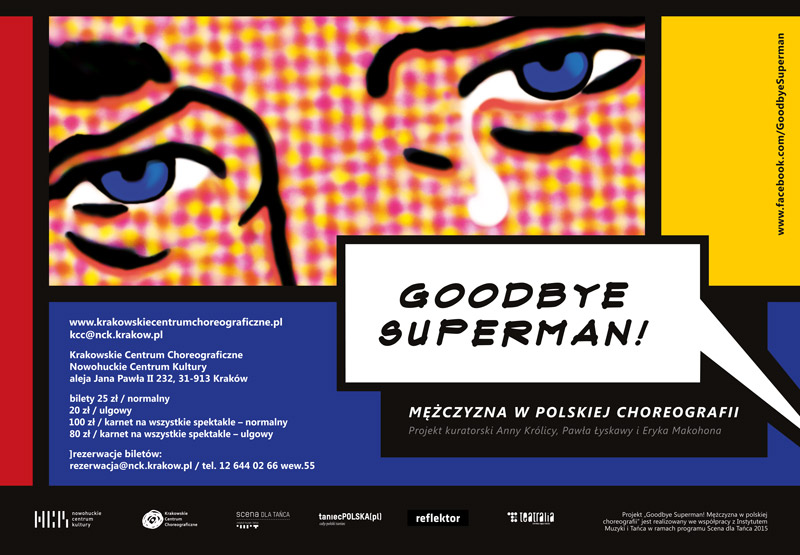 Goodbye Superman! Mężczyzna w polskiej choreografii