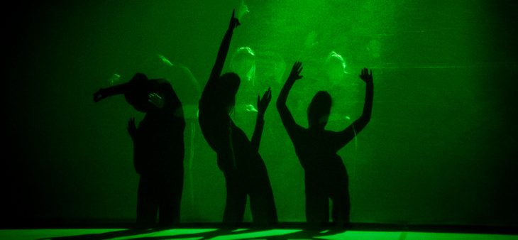 """""""spectral layers of movement"""" w Warszawie / Scena Tańca Studio"""