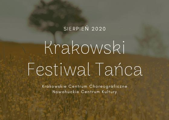 Zmiany w nowym sezonie – czas na Krakowski Festiwal Tańca