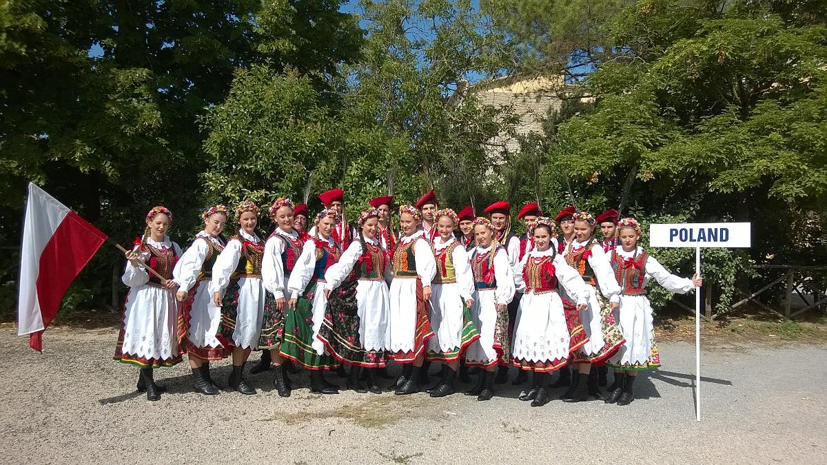 Międzynarodowe Festiwale Folklorystyczne w Castiglione del Lago i Giove (Włochy)