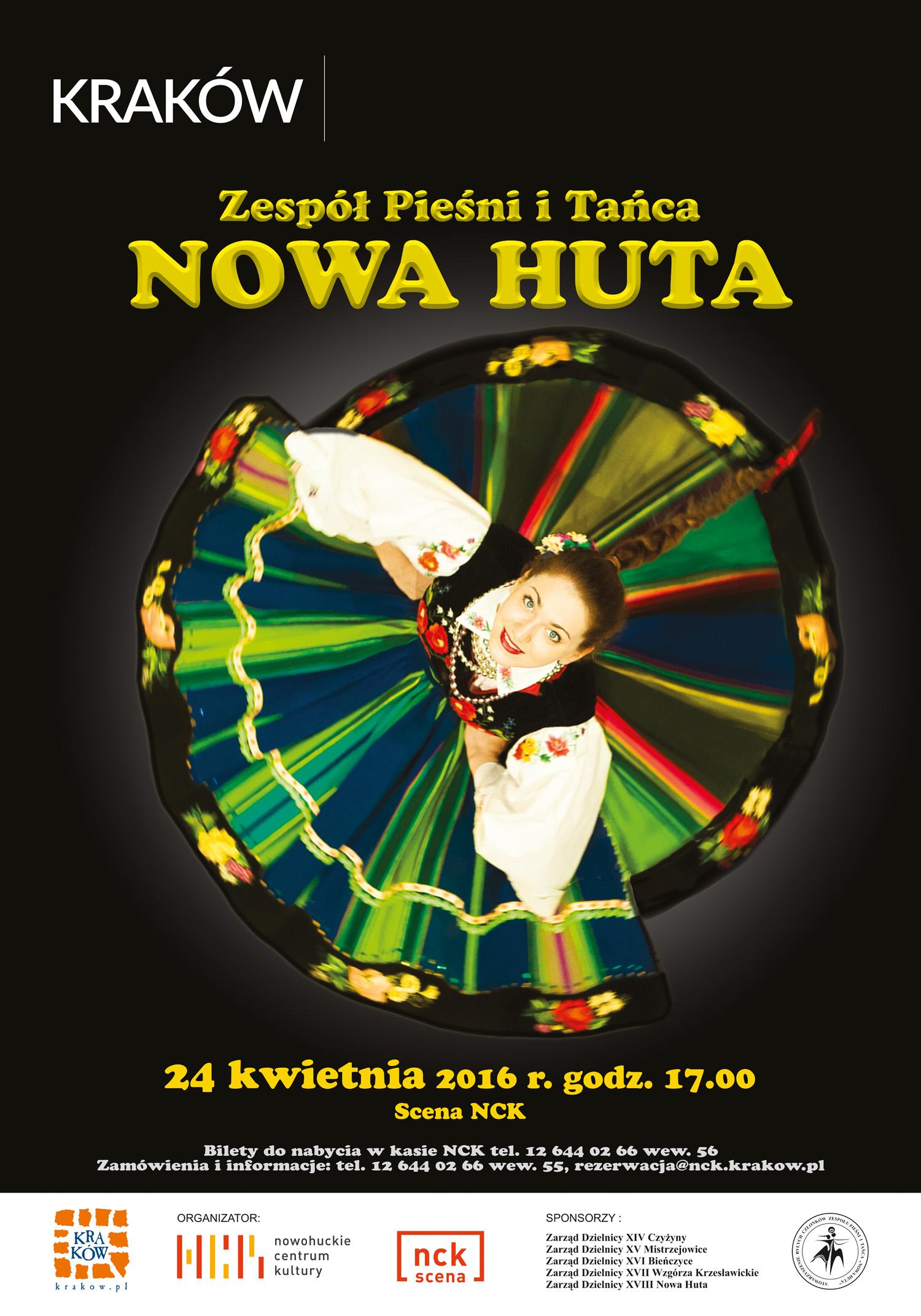 Wiosenny koncert Zespołu Pieśni i Tańca NOWA HUTA