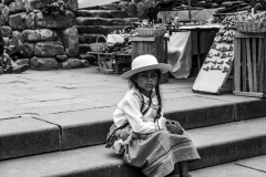Argentina - A Girl at a Marketplace