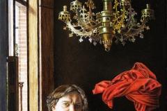 Iwo Birkenmajer, ALC IXH XAN, 23,5 x 19,5 cm, olej, 2014 mn