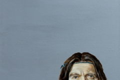Iwo w tym świecie, 50 x 50 cm, olej, akryl, 2011