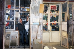 1. Człowiek z Damaszku, 2002, olej, płótno (6 części), 200x300 cm