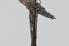 Czesław-Dźwigaj-Katyń-Smoleńsk-projekt-pomnika-90x50x25-cm-brąz-lany-patyna-granit-2011