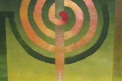 Reprodukcja-P.-Joanna-Warchoł-Złota-spirala-III-70-x-100-cm-akryl-płótno-2012-r.
