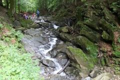 Kaskady na potoku Hylatym (fot. Sebastian R. Bielak)
