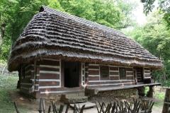 Zabytkowa chata bojkowska z XIX w. (fot. Sebastian R. Bielak)