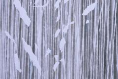 Radovan LANGER, Poszukiwanie milczenia III, 2012, technika mieszana, 72 × 72