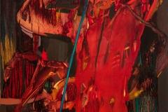 Dyrygent, 2015, olej na płótnie, 100 x 73 cm