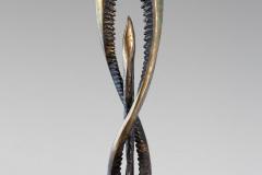 Paulin-Wojtyna-Genel-1980-rzeźba-czarny-dąb-144-cm-wys.