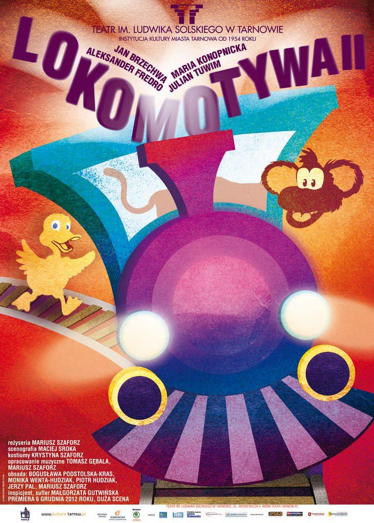 lokomotywa plakat