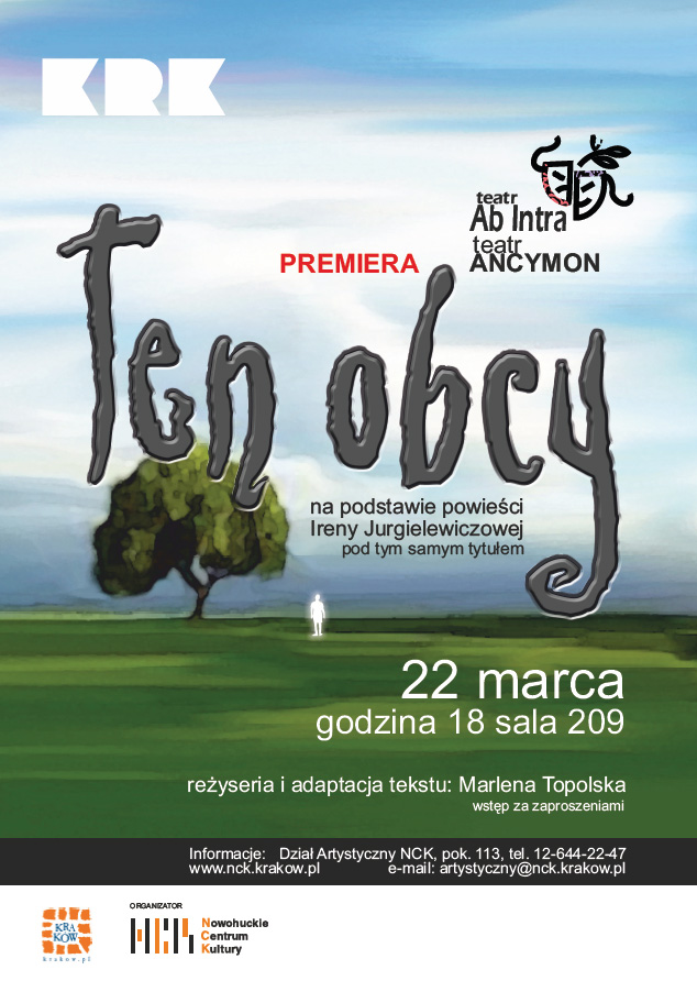 ten obcy plakat