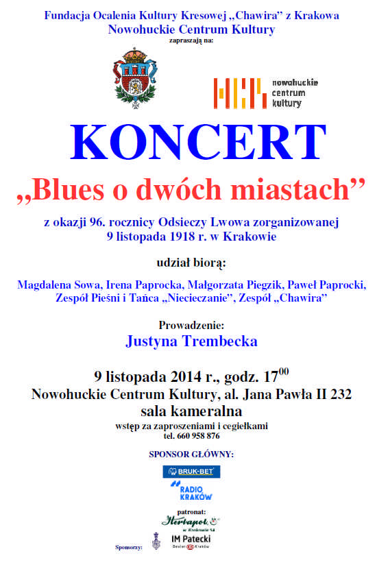 blues plakat