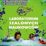 plakat_Laboratorium _Szalonych_Naukowców