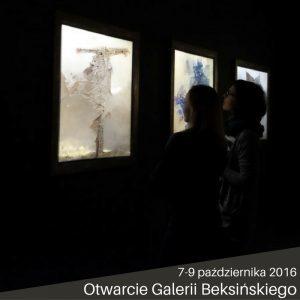 Otwarcie Beksińskiego - galeria