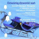 Dzwonią dzwonki sań-plakat A3 styczeń 2017